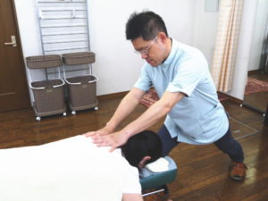 施術の流れ3トリガーポイントセラピー